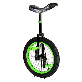 Koxx Fluo Trials Green/Black Steel/Aluminum Frame 20-inch Unicycle