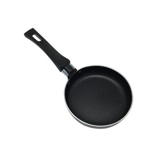 Egg Wonder Black Aluminum Alloy/Silicone Fry Pan