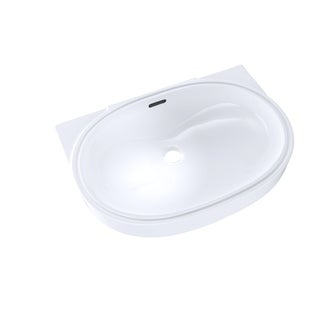 Toto Lt546G Cotton White Undercounter Lavatory with Cefiontect