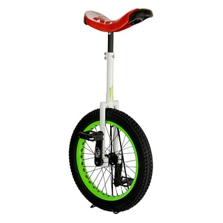 Koxx Troll Red, Black, and Green Aluminum 20-inch Trials Unicycle