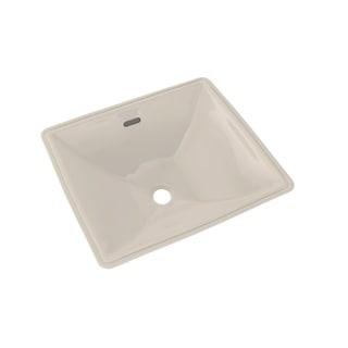 Toto Legato Rectangular Undermount Bathroom Sink with CeFiONtect, Sedona Beige (LT624G#12)