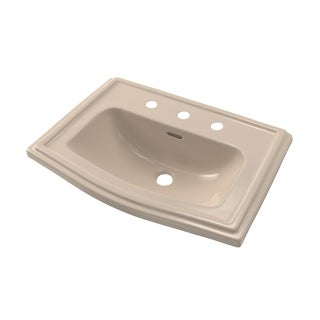 Toto Clayton Bone White Porcelain Self-rimming Sink