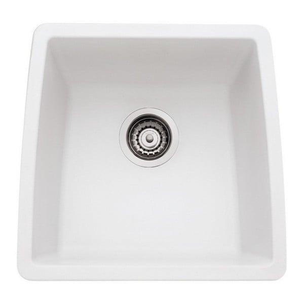 Blanco Silgranit White : Blanco Performa Silgranit II White Granite Single Bowl Kitchen Sink ...
