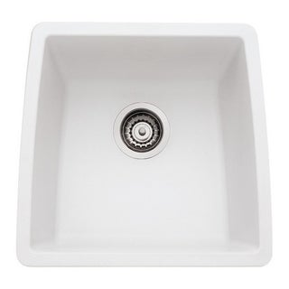 Blanco Performa Silgranit II White Granite Single Bowl Kitchen Sink