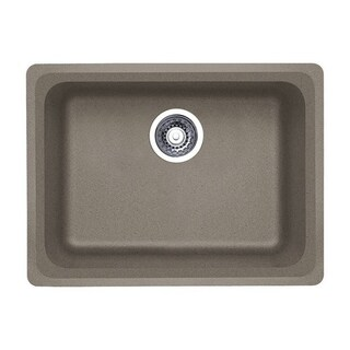 Blanco Vision Truffle-finished Granite Medium Undermount Single Basin