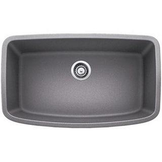 Blanco Valea Metallic Grey 1.0 Super Single-bowl Undermount Sink