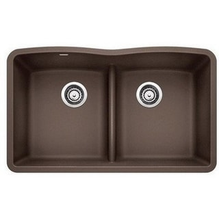 Blanco Diamond Brown Granite Undermount Double-bowl Sink