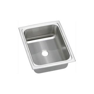Elkay 20-gauge Stainless Steel 12.5 x 15 x 6.125-inch Single Bowl Top Mount Bar/Prep Sink