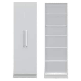 Manhattan Comfort Chelsea 2.0 27.55-inches Wide 6-shelf 2-door Closet