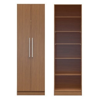 Manhattan Comfort Chelsea 2.0 27.55-inches Wide 6-shelf 2-door Closet