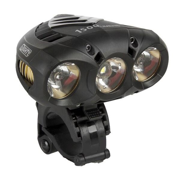 Ventura X-power Black Plastic 1500 Lumen Bicycle Headlight
