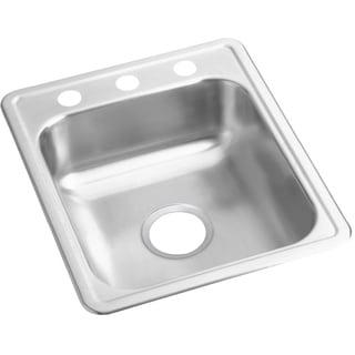 Elkay 22-gauge Stainless Steel Single-bowl Top-mount Bar/Prep Sink