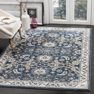 Safavieh Carolina Dark Blue Rug (5' x 8')