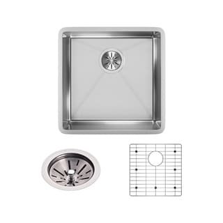 Elkay 18-gauge Stainless Steel Single-bowl Undermount Kitchen Sink Kit