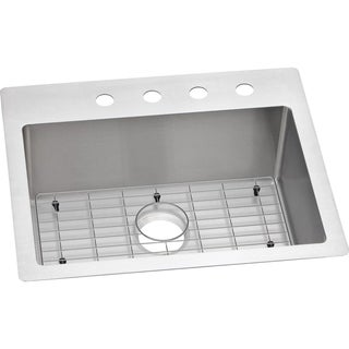 Elkay 18-gauge Stainless Steel 25-inch x 22-inch x 9-inch Single-bowl Kitchen Sink