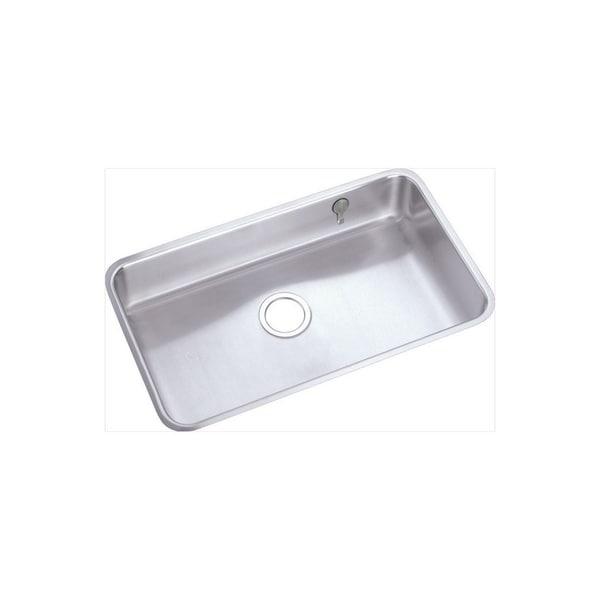 Shop Elkay 18-gauge Stainless Steel Single Bowl Undermount Kitchen on kohler undermount sink kit, sink drain kit, sink undermount installation kit,