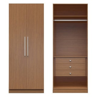 Manhattan Comfort Chelsea 2.0 MDF Wood Wardrobe Closet