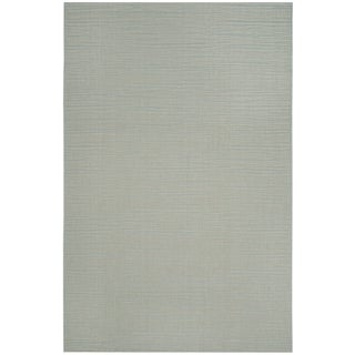 Safavieh Courtyard Tonal Aqua/ Cream Indoor/ Outdoor Rug - 5' x 8'