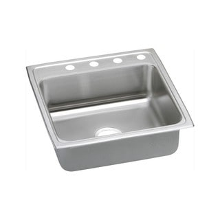 Elkay 20-gauge Stainless Steel 22-inch x 22-inch x 7.125-inch Single-bowl Top-mount Kitchen Sink