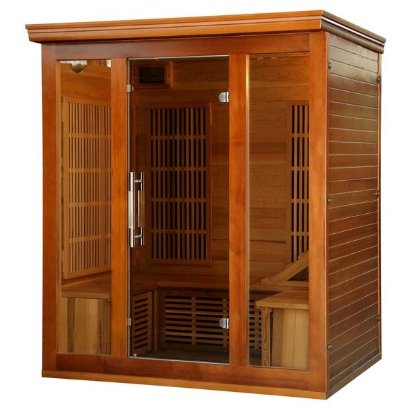 Radiant Sauna Cedar 3- to 4-person Elite Premium Sauna