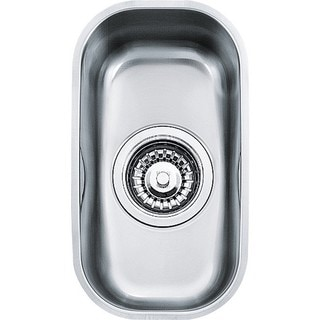 Franke Silver Stainless Steel Artisan Single-bowl Sink