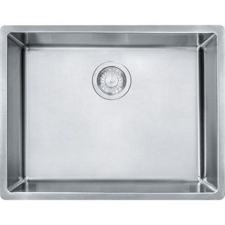 Franke Cube Undermount 18-gauge Stainless Steel Single Bowl Sink
