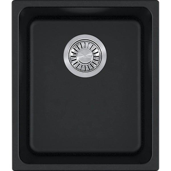 Franke Black Undermount Sink : Franke Kubus Black Granite Single Bowl Undermount Sink - Free Shipping ...