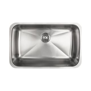 Franke Kindred Collection 18-gauge Stainless Steel Single Basin Sink