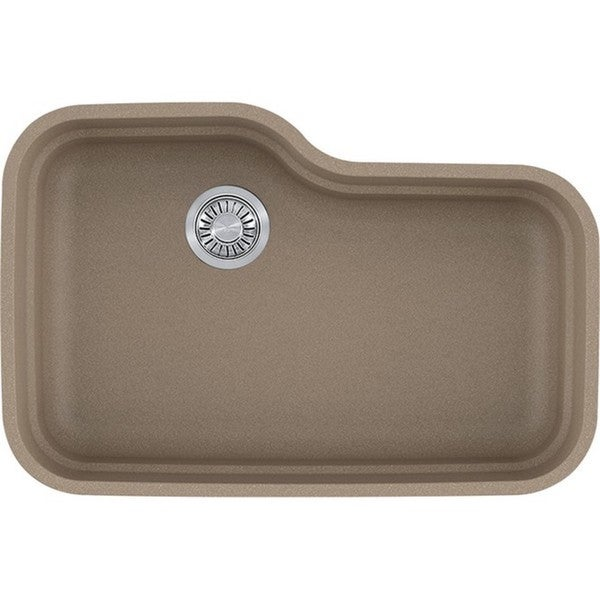 Franke Orca Oyster Granite Single Bowl Undermount Kitchen Sink - Free ...