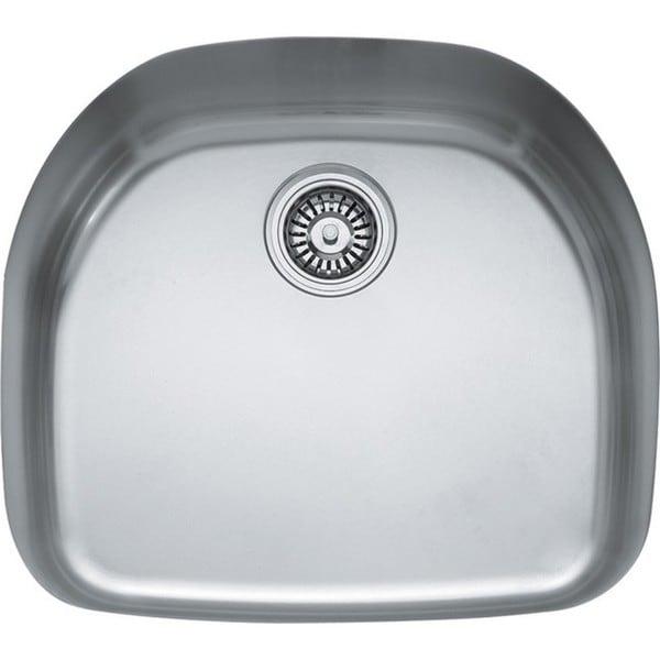 Franke Prestige Stainless Steel 9 Inch Deep Single Bowl Undermount Sink