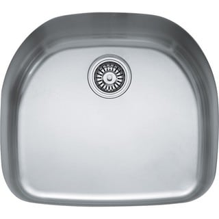 Franke Prestige Stainless Steel 9-inch-deep Single-bowl Undermount Sink