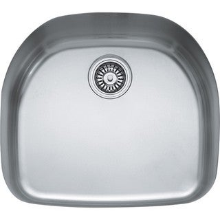 Franke Prestige Stainless Steel 9 Inch Deep Single Bowl Undermount Sink