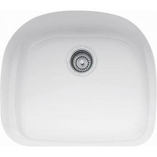 Franke Prestige Fireclay White Single-bowl Undermount SInk