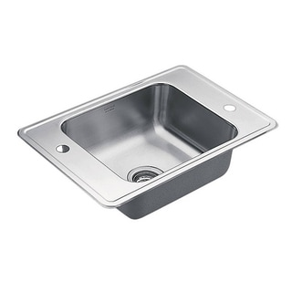 Moen C-2417-2 Satin Stainless Steel 5.5-inch Classroom Sanitary Sink