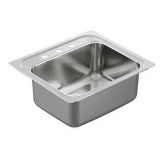 Moen 1800 18-gauge Series Stainless Steel Single-bowl Drop-in Sink