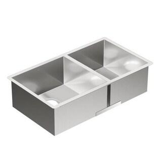 Moen 1800 Series 18-gauge Stainless Steel Double-bowl Sink