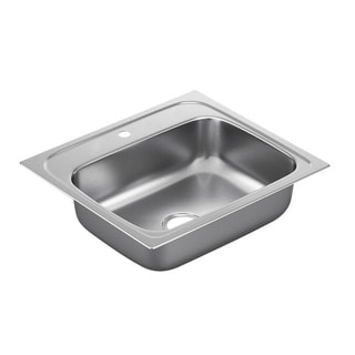 Moen 2000 Series Stainless Steel 20-gauge Single Bowl Drop-in Sink
