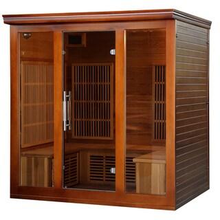 Radiant Sauna 4/5-person Cedar Elite Sauna