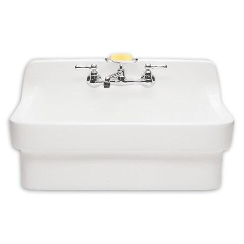 American Standard White Plaster Work Sink