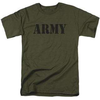 Army/Army Short Sleeve Adult T-Shirt 18/1 in Military Green