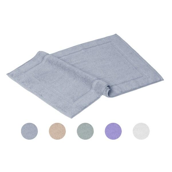 100% Cotton 20x32 Bath Rugs (set of 2)