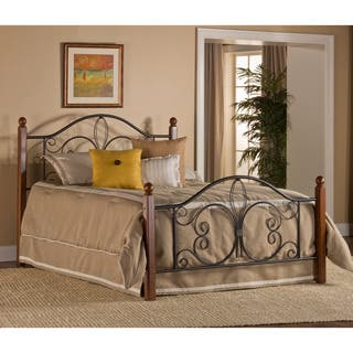 Milwaukee Wood Post Bed with Rails|https://ak1.ostkcdn.com/images/products/12675947/P19461769.jpg?impolicy=medium