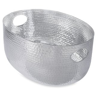BirdRock Home Hammered Stainless Steel Beverage Tub