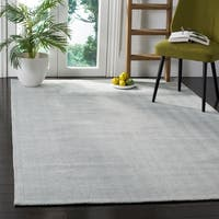 Safavieh Hand-Woven Marbella Flatweave Light Blue Wool Rug - 6' x 9'