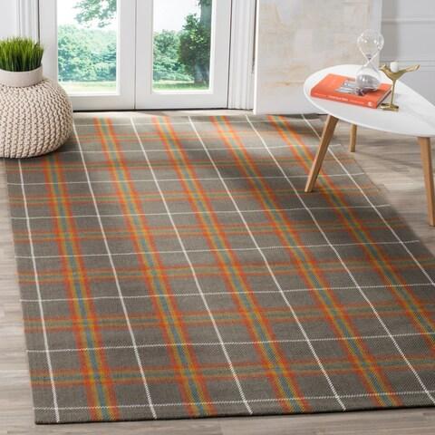 Safavieh Hand-Woven Marbella Flatweave Multicolored Wool Rug - 6' x 9'