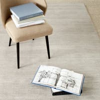 Safavieh Martha Stewart Winding Braid Oyster Wool Rug (5' x 8')