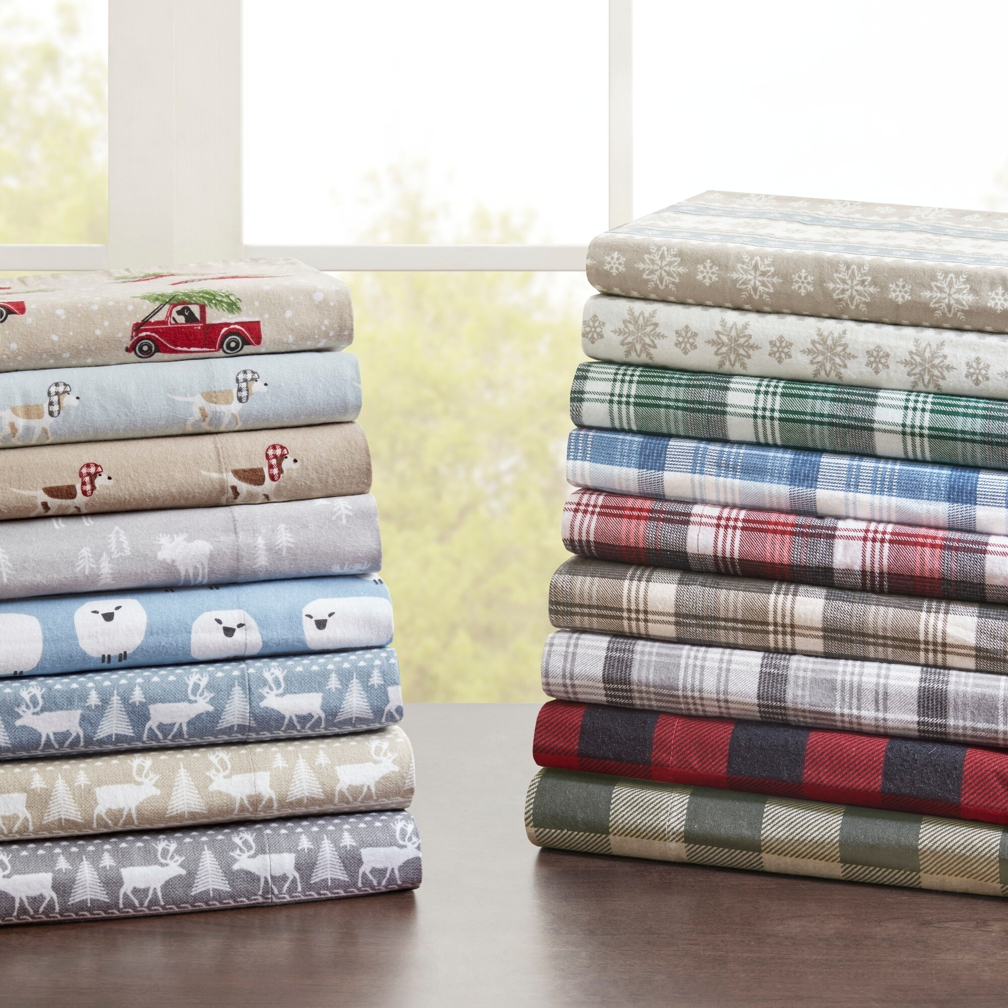 Woolrich Flannel Cotton Flannel Printed Sheet Set (As Is ...