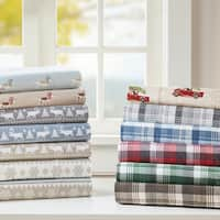 Woolrich Flannel Cotton Flannel Printed Sheet Set
