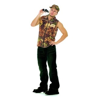 Rack Hunter Multicolored Polyester Costume