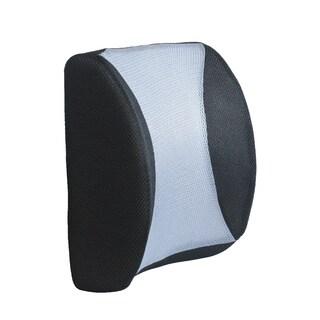Black Mesh Back Lumbar Support Cushion